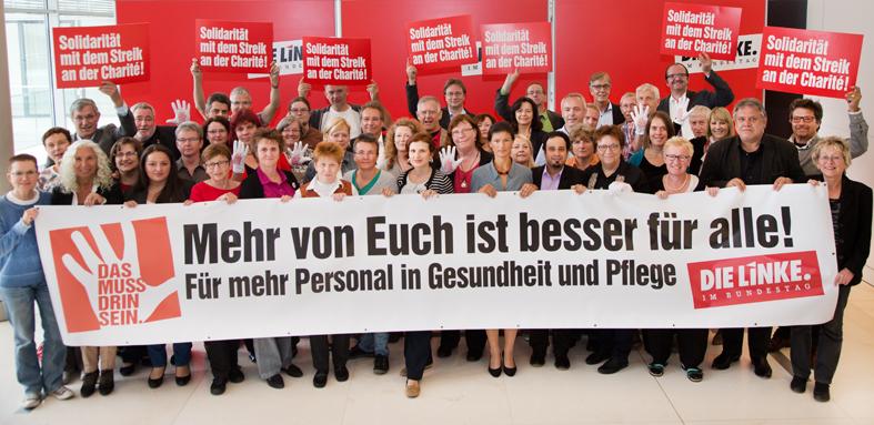 """Mehr von Euch ist besser für alle! – """"Solidarität mit dem Streik an der Berliner Charité"""""""