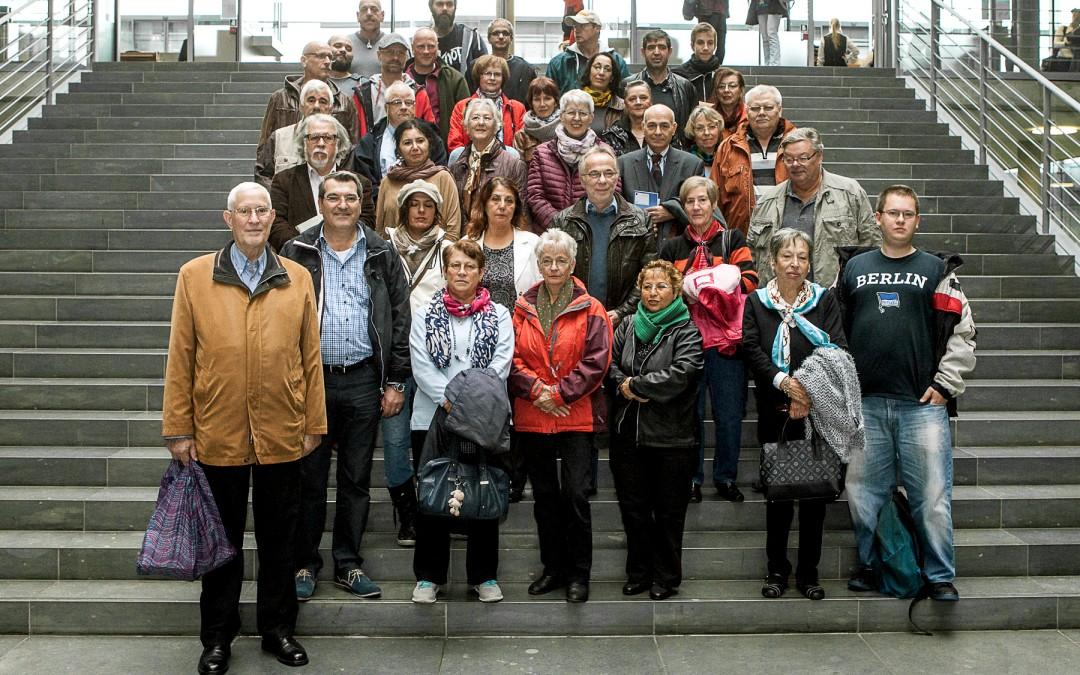 Besuchergruppe von Azize Tank im Bundestag