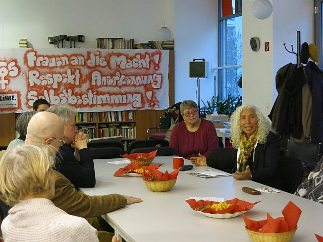 DIE LINKE. Tempelhof-Schöneberg feiert den Internationalen Frauentag 2016