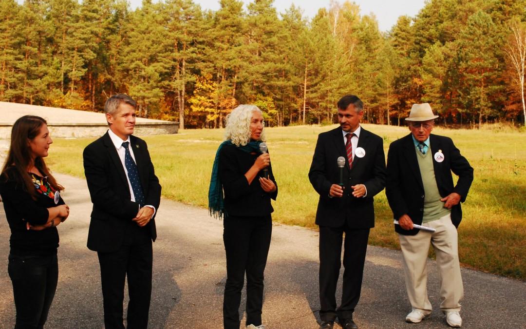 71. Jahrestag der Selbstbefreiung der jüdischen Häftlinge des deutschen Vernichtungslagers Sobibor