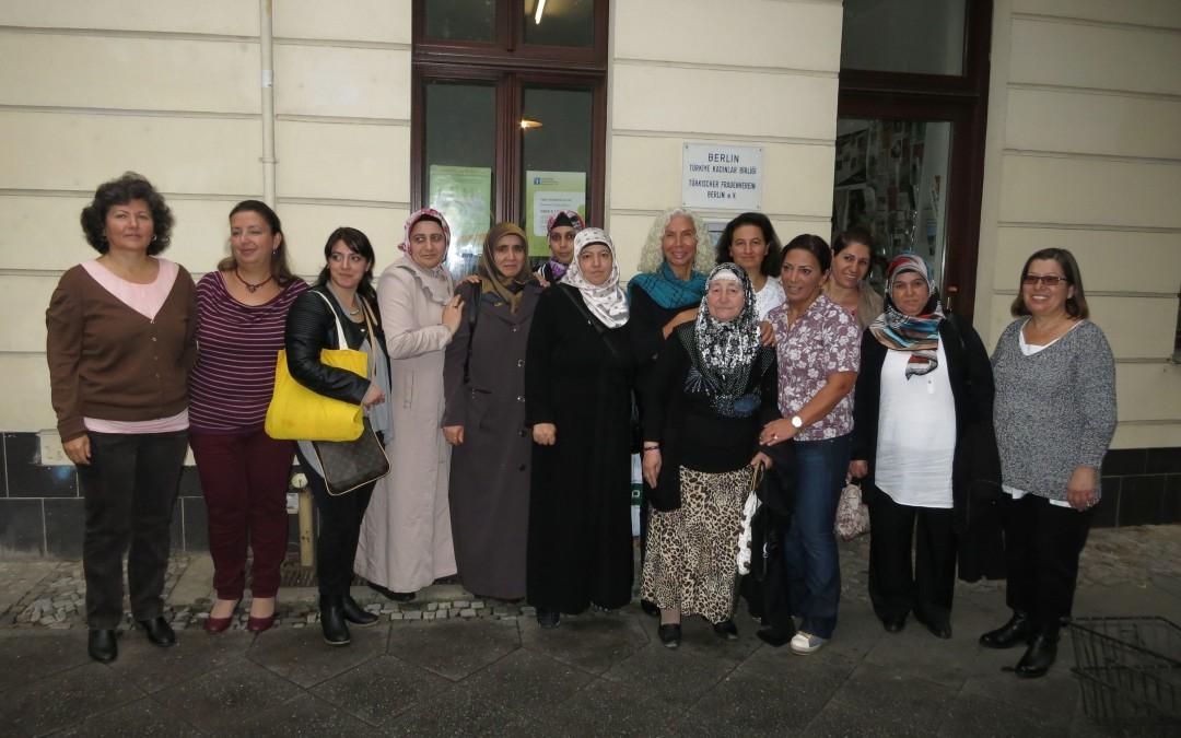 Scheckübergabe Türkischer Frauenverein