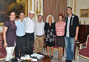 Politische Gespräche in Havana