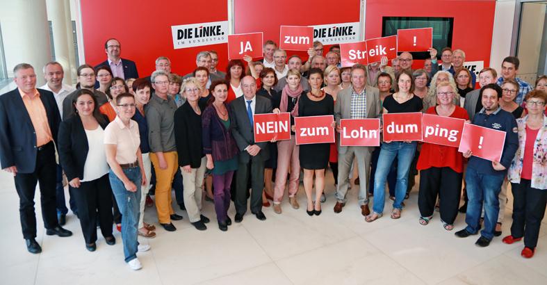 Resolution Ja zum Streik- Nein zum Lohndumping bei der Deutschen Post AG!