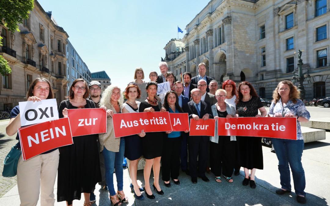 Nein zur Austerität – Ja zur Demokratie