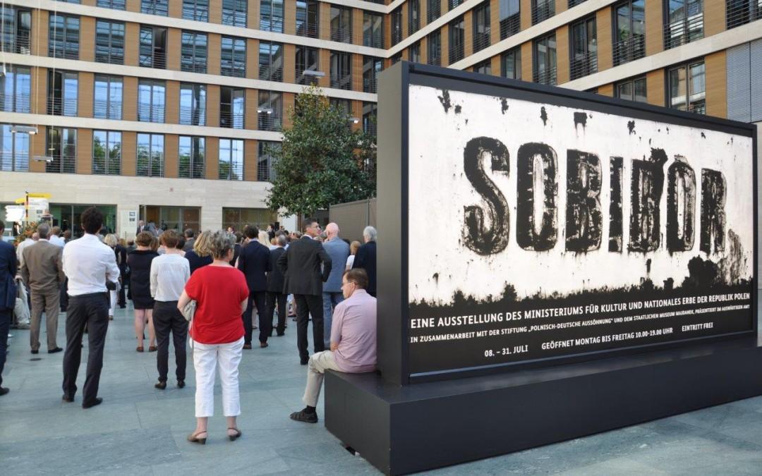 Eröffnung der Ausstellung zum deutschen Vernichtungslager Sobibor im Auswärtigen Amt