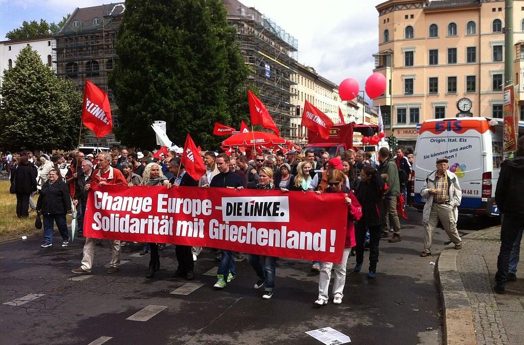 Europa. Anders. Machen. – Tausende gegen die Austeriäts- und Abschottungspolitik der EU