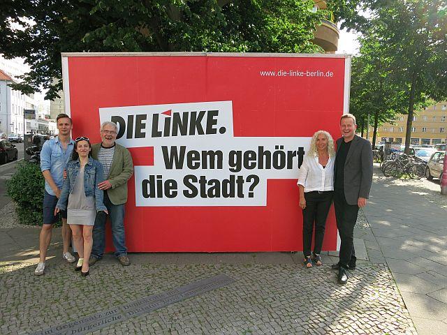 DIE LINKE. Berlin eröffnet ihr Wahlquartier