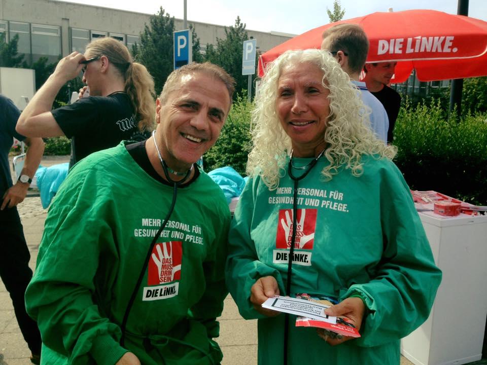 Gesundheit ist keine Ware – Die Pflegebettentour der Fraktion DIE LINKE. macht Halt in Berlin-Reinickendorf