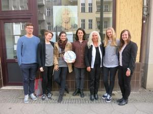 Luis Frank, Katharina Leinius, Johanna Blees, Kevin Dieke, Azize Tank, Verena Michaeli, Elisabeth Flesch (v.l.n.r.)